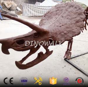 Realistic Artificial Dinosaur Fossil and Skeleton Replicas