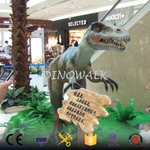 Amusement park equipment Animatronic cartoon dinosaur