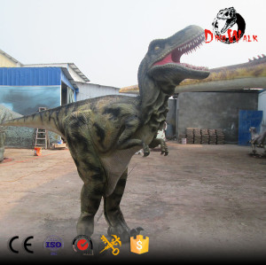 light weight animatronic walking dinosaur costume