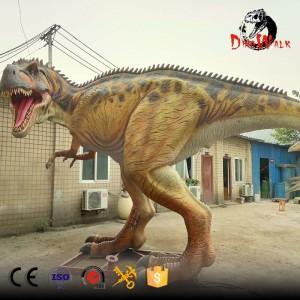 animatronic Carnotaurus dinosaur for parks