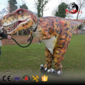 hidden legs animatronic dinosaur suit