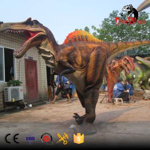 hidden legs Spinosaurus dinosaur costume