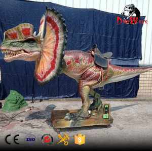 coin operated animatronic dinosaur rides for dino park