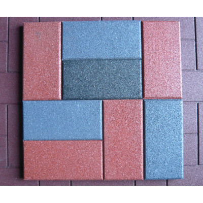 Recycled Rubber Flooring Tile