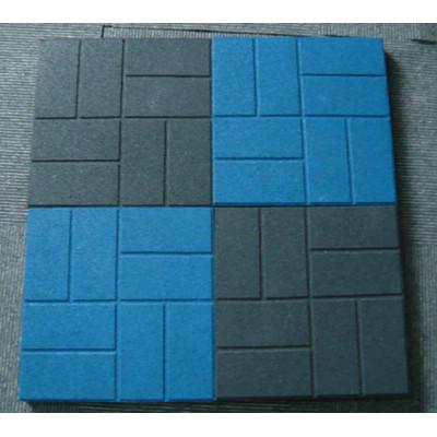 Square Rubber Flooring Tile
