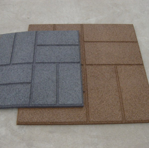 Rubber Paver Tile