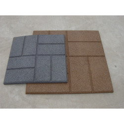 Rubber Paver Tile
