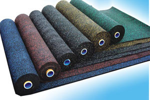 Colorful Anti-Slip Rubber Rolls