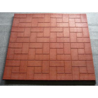 Rubber stable mat floor