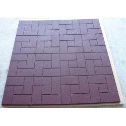 Staining SBR horse rubber mat