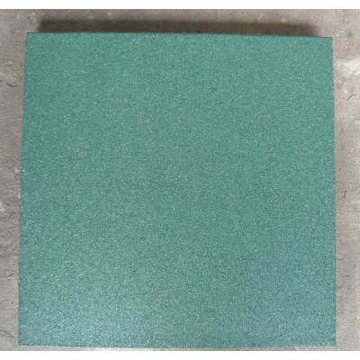 Rubber flooring for playing fields