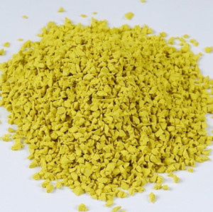 Yellow EPDM Granules For Rubber Flooring