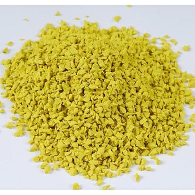 Yellow EPDM Granules For Rubber Flooring