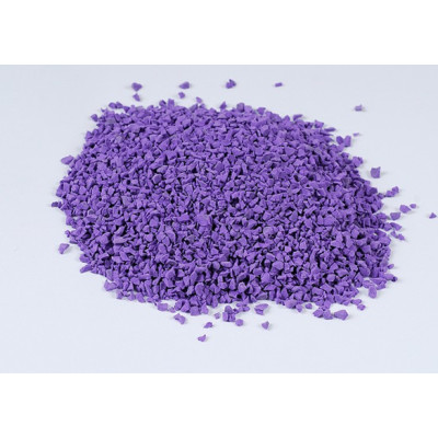 Purple EPDM Rubber Granules