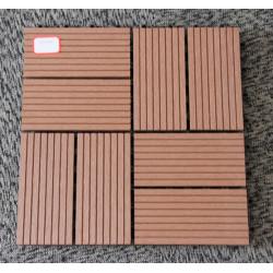 Interlocking WPC Deck Tiles