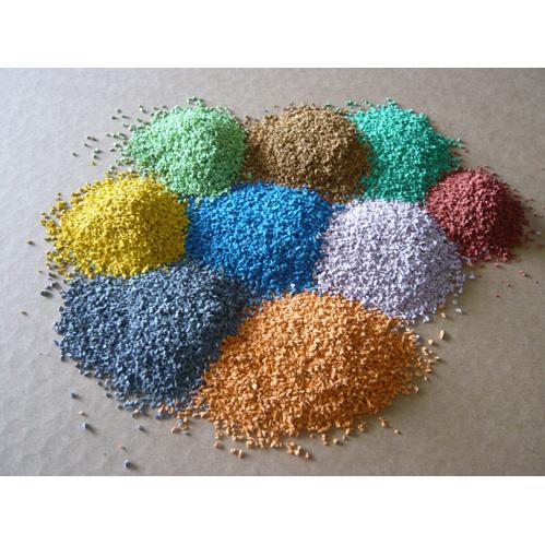 Colorful Epdm Rubber Granules Colorful Epdm Granules