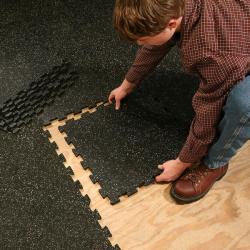 Interlocking Rubber tile,rubber flooring