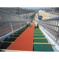 Colorful epdm granule application