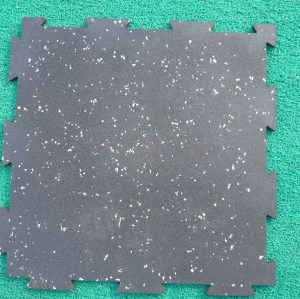 Interlocking Surface Rubber tiles