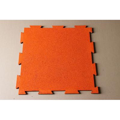 Interlocking Rubber Mat/matting(orange)