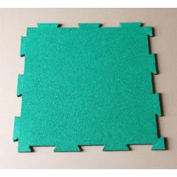 Interlocking Rubber Mat/matting(green)