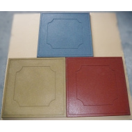 50*50cm New design surface rubber flooring