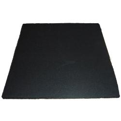 1m*1m Black Recylced RubberMat