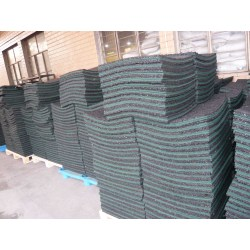 Recycled  Rubber Paver Tile
