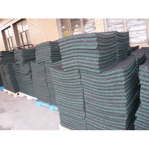 Recycled Rubber Paver Tile China Rubber Floor Tiles