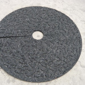 Black Rubber Mulch Ring