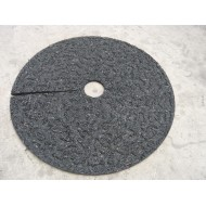 Black Rubber Mulch Ring