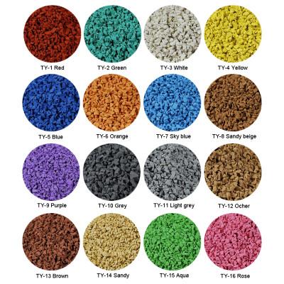 Colorful EPDM Granules