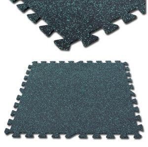 1m*1m Interlocking rubber tiles