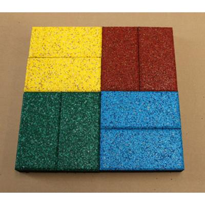 colour rubber tile