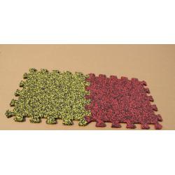 90%EPDM Colorful Granules interlocking rubber tiles
