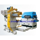uncoiler,straightener, NC servo feeder,3 in 1