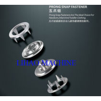 stamping mould for prong snap button, such as stud, socket, snap