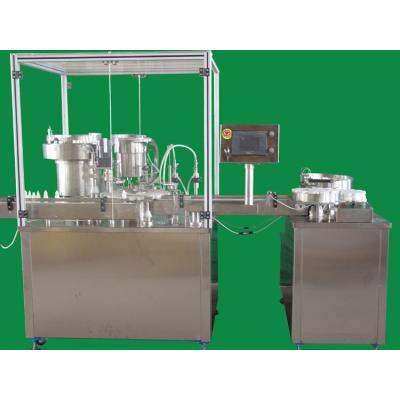الطب ملء السائل ومسحوق آلة تعبئة وتغطية