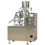Semi-automática máquina de sellado del tubo de llenado