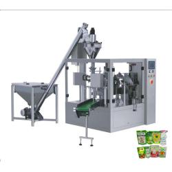 Medición de Polvo Rotary y Línea de Producción de Packaging
