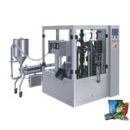 Máquina para medir líquidos y Packaing (bolsa preformada)