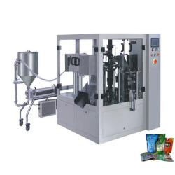 السائل قياس وPackaing آلة (بريفورميد كيس)