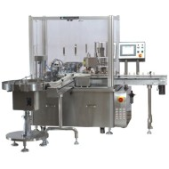Vial Filling & Plugging & Capping Machine