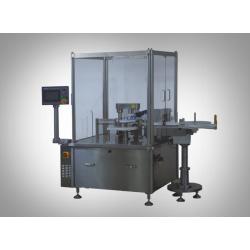 Jeringa de llenado y enchufar y Etiquetado Machine