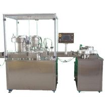 Liquid Medicine Filling and Powder Filling and Capping Machine