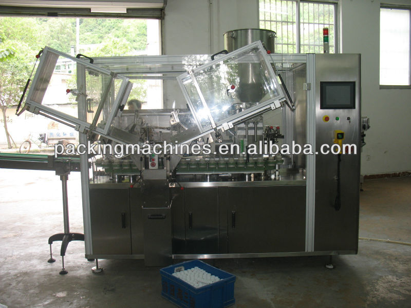 Bns-150b tubo de alta velocidad de llenado y sellado de la máquina