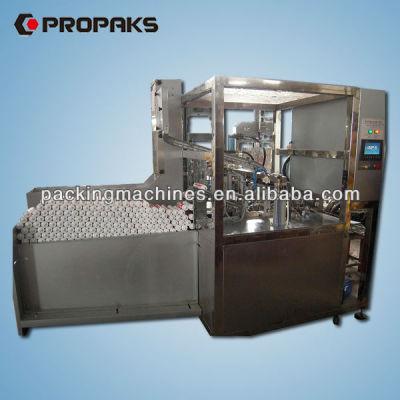 bnsgz500 automática sellador de silicona de llenado y la tapa de la máquina de prensado