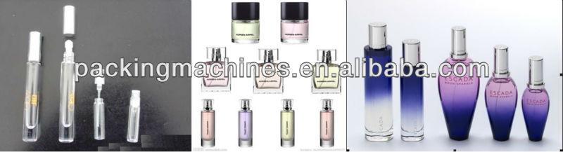 bnsxs60 el perfume de llenado y tapado de la máquina