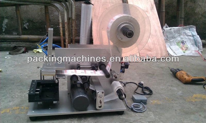 Bns-50 semi automática de botella redonda de etiquetado de la máquina