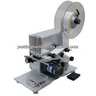 Bns-60 semi plana automática máquina de etiquetado
